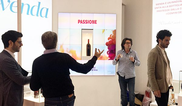 18 Christie MicroTiles™ at Vinitaly 2015